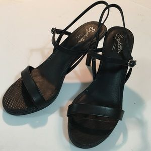 Seychelles Sweet As Honey Black Dress Pump 7.5